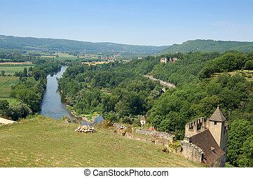 Dordogne from Chateau Beynac