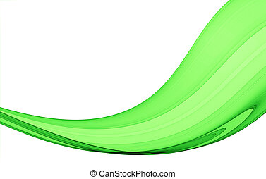 green abstraction - green abstract composition - high...