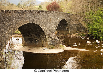 Stone Bridge at Inver - The ancient stone bridge at Inver...
