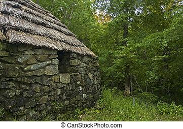 Lone Shieling, Cape Breton Highlands National Park, Nova Scotia, Canada