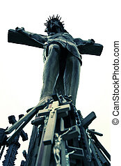 Christian Crucifix and Cross