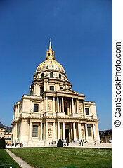 Paris, les invalides - Paris, france, les invalides, church...
