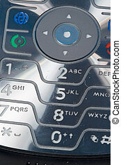 Mobile Phone Keypad - A close-up of the keypad of a cellular...
