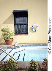 roof top swimming plunge pool - roof top plunge swimming...