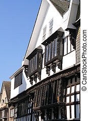 Tudor Buildings (1776) - English Tudor Buildings