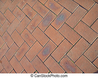 Brick Pattern - An interesting texture from an old brick...