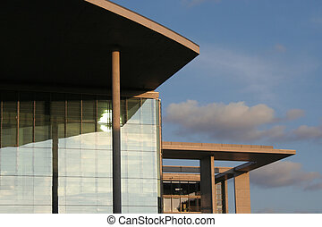Bundeskanzleramt - Berlin: detail of the Marie Elisabeth...