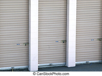 Storage Units - Isolated storage units to house personal,...