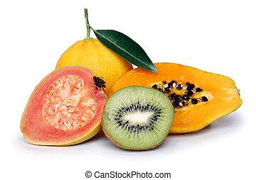 tropicais, fruta