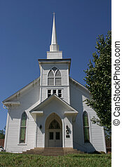 Old church - A 100 year old church in a small Texas town