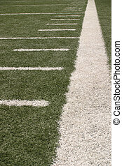 Sideline - Footbal field...sideline