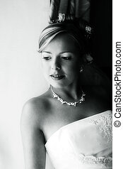 Beautiful bride - Portrait of the smiling beautiful bride...