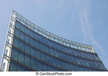 Futuristic Skyscraper Facade