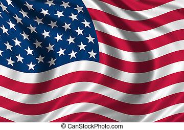 estados unidos de américa, bandera