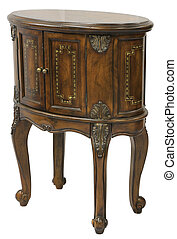 Queen Anne End Table - Queen Anne Accent End Table in...