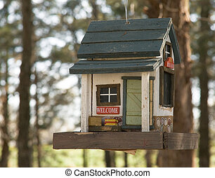 Classic Bird Feeder - Weekend Cabin bird feeder from Ozark...