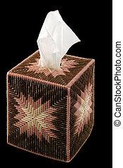 Tissue Box - Paper handkerchief in a decorative plastic...