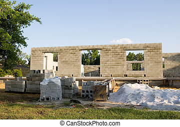 Florida Residential Construction Site - upscale home under...