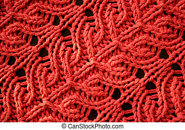 Knit Texture - A high resolution image of a knitted pattern...