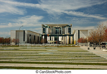 Chancellors Office - The German Chancellors Office Building...