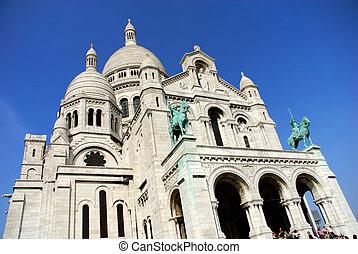 Paris, Sacre coeur (sacred heart) - Paris, cathedral sacre...