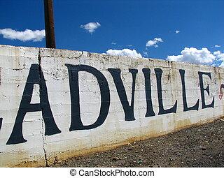 Leadville 4 - We Love Leadville sign in Leadville, CO.