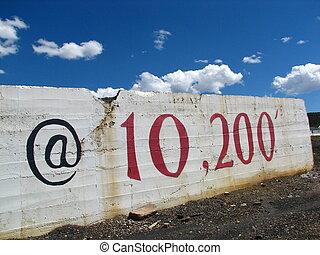 Leadville 7 - We Love Leadville sign in Leadville, CO.