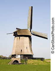 Dutch windmill 18 - Historic Dutch windmill