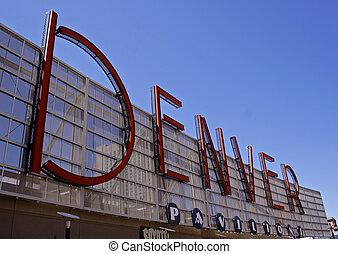 Denver, Pavilhões