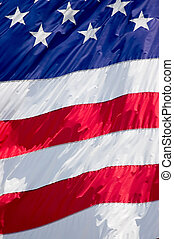 Stars and Stripes Background - Tightly cropped background...