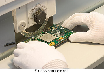 Chopping computer plate