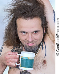 insane tea-drinking