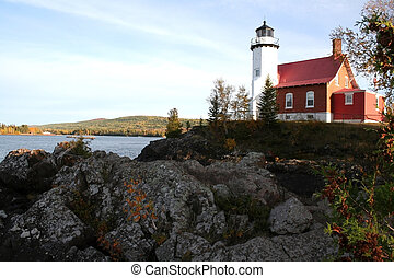 Eagleharbor Light House - historic eagle habour light house...
