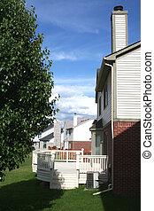 back yard - Neighborhood back yard