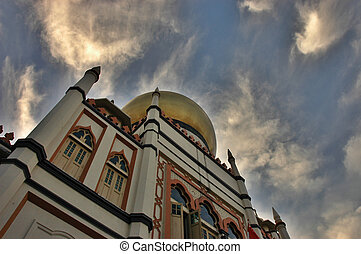 Sultan Mosque - This mosque is in Singapore