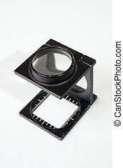 Loupe - A magnifying loupe for checking focus or print...