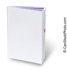 Blank book cover page - Catalogue with blank cover with...