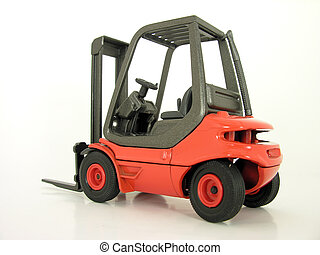 Forklift 02 - Sit Down Electric Forklift