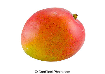 mango - the mango fruit isolated with clipping path