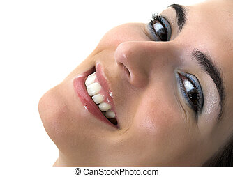 Great Smile - Beautiful young woman smiling