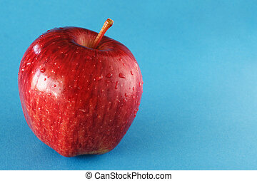 Delicious red apple