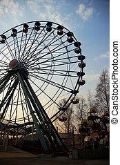 ferris wheel - amusement park ferris wheel