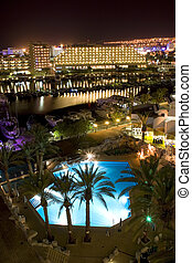 The Israeli night summer in Eilat 1 - Israel Eilat Hotel...
