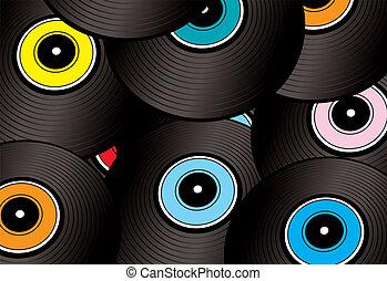 record montage