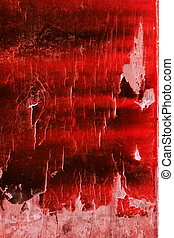 Red Depths - Abstract grunge pattern in shades of red and...