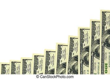 diagram of 100 dollars