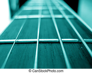 Turquoise Frets - A beautiful background of a turquoise