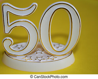 50th sign