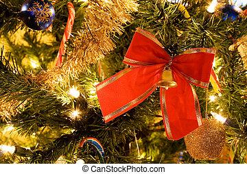 樹, 聖誕節, 帶子