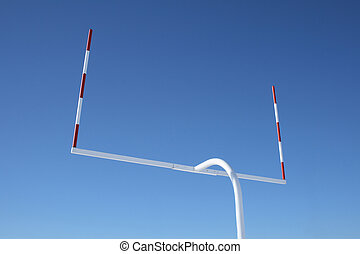 Uprights of football goal posts - Uprights of American...